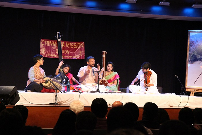 Concert By Vidwan T.M Krishna At Chinmaya Mission